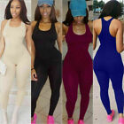 Women Ladies Jumpsuit Romper Bodycon Playsuit Clubwear Long Party Pants Trousers