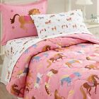 Wildkin Kids 7 Pc Full Bed In A Bag for Boys and Girls, Microfiber Bedding Set I