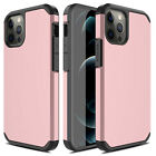 For iPhone 12 Pro Max 5G 11 XR XS Max X Phone Case Armor Cover /Screen Protector