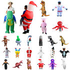 Adults Kids Fun Halloween Christmas Inflatable Costumes Performance Party Suit