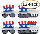 Patriotic USA Top Hat 4th of July Party Favor Sunglasses for Adults and Kids