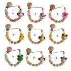 Baby Dummy Pacifier Chain Clip Baby Soother Nipples Holder Teething Chain