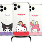 Hello Kitty Friends Hanging Phone Strap Case iPhone 12 Pro Pro Max 12 mini Case