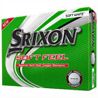 NEW Srixon Soft Feel 12 Golf Balls 2021 - Choose Color and Quantity