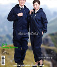 Unisex Dacron Work Overalls Anti-Fouling Work Clothes Dust Free Hooded Workwear