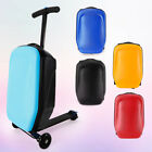 20'' Luggage Scooter Suitcase Trolley Wheels Case Skateboard Type Travel Bag New