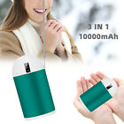 Rechargeable Hand Warmer 10000mAh USB Heater Power Bank Electric Pocket Warmers