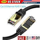 RJ45 Cat8 Ethernet Cable Network Gold Ultra-thin 40Gbps SSTP Patch LAN Lead Lot