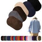 Badges  Applique Sewing Apparel Elbow Knee Fabric Patch Suede Oval Iron-on