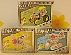 (RO) Metal Building Kits - Choice of 3 Varieties, Aeroplane, Helicopter, Tractor