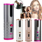 LCD Auto Rotating Hair Curler Hair Waver Cordless Curling Iron Wireless Ceramic