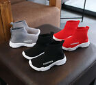 Baby Boys Girls Kids Sneakers Sock Shoes Child Toddler Casual Sports Trainning