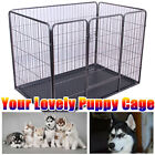 S M L XL Dog Cage Pet Puppy Crate Carrier Home Folding Door Training Kennel UK