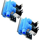 2-Pack HQRP Washing Machine Water Inlet Valve w/Bracket fits Whirlpool W10110517