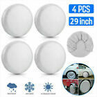 Set of 4 Wheel Tire Covers For RV Trailer Camper Car Truck And Motor Home 27-29