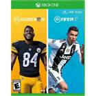 🍎 Madden NFL 19‼ - FIFA 19 Bundle (Microsoft Xbox One)NEW Sealed ‼Loose Disc‼