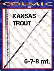 Canne truite torrent Colmic KANSAS trout mt 6,00-7,00-8,00