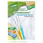 Pack of 50 - Reusable Interdental Brushes By Orthomechanic - Ship From USA