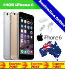 (new & Sealed) Apple Iphone 6 | Factory Unlocked | Space Grey 128gb 64gb 16gb