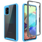 For Samsung Galaxy A01 A11 A21 A51 A71 5G Case Full Cover With Screen Protector