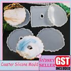 Coaster Resin Casting Mould Epoxy Mold Silicone Jewelry Agate Making Craft Mat A