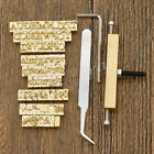 Leather Mold Alphabet Numbers Stamp Set Interchange Stamping Leathercraft Tool