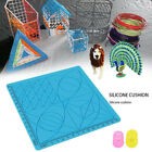 3D Printing Pen Silicone Mat Copy Template Pads Drawing Graffiti Pad With 2 Caps