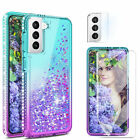 For Samsung Galaxy S21 / Note 20 Ultra Bling Case Cover Camera/Screen Protector