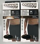 2 Pack Mens Copper Fit Boxer Briefs Compression Underwear built in cup pocket