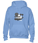 WHALE HOT AIR BALLOON HOODY HOODIE COOL FUNNY JOKE DESIGN ANIMAL FASHION TOP