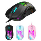 M65 USB Wired Gaming Mouse Computer PC RGB Backlight 2400DPI Optical Mice günstig