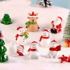 Christmas+Miniature+Snowman+Santa+Claus+Fairy+Garden+NEW+Decor+Figures+R5X5