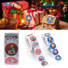 Sign Gifts Decoration Sticky Note Seal Sticker Santa Label Christmas Stickers