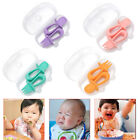 2  Baby Fork and Spoon Set Self Feeding Training Toddler Spoons Silicone Cutlery