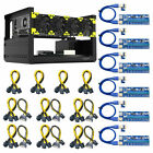 Veddha V3C 6/8 GPU Mining Rig Aluminum Case Stackable Open Air Frame  Cable