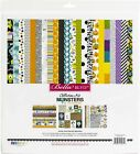 "Bella Blvd Collection Kit 12""X12""-Monsters & Friends"