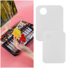 Adults Kids Acrylic Paint Palette Transparent Plate Makeup Nail Art Tool Tray