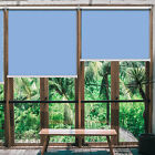 26 x 79in Blackout Waterproof Roller Shades Window Blinds Light Filtering Shade