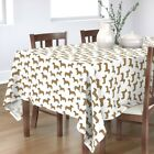 Tablecloth Dog Dogs Dog Breed Doxie Dachshund Dachshunds Cotton Sateen