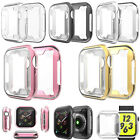 2x All-inclusive TPU Protective Shell Case Watch Cover for iWatch 1/2/3/4/5/6/SE