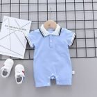 Newborn Baby Boys Girls Bodysuit Infant Toddlers Romper Set Casual Clothes Suits