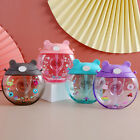 500ml Donuts Plastic Bottle With Straw Portable Baby Nipple Bottle Sippy Cup