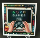 Gaming Video Computer Games Personalised Grandson Son Handmade 3d Birthday Card
