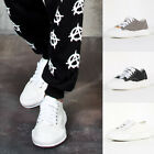 NewStylish Contrast canvas wide sneakers