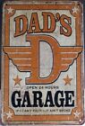 Retro Metal Tin Signs What Happens in the Garage Wall Decor Art Poster
