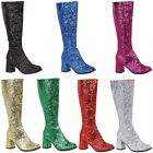 Glitter Gogo Boots Shoes Adult
