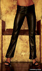 SEXY LEATHER TROUSERS PANTS SIZE 6 - 8 10 - 12 - 14