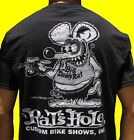 Rat's Hole Black World Famous Big Daddy Rat logo