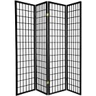 3 4 5 6 8 10 Panel Room Divider Screen Black White Cherry Natural Espresso Color