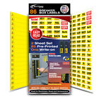 Easy Read Circuit Breaker labels that apply directly to Switch universal fit Lot